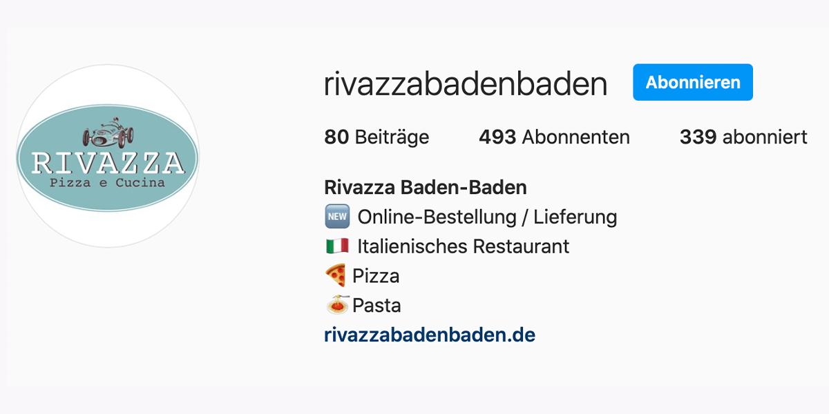 Rivazza Instagram